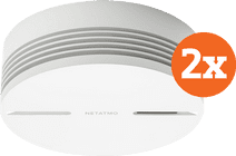 Netatmo Slimme Rookmelder (10 jaar) Duo Pack