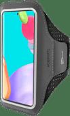 Mobiparts Comfort Fit Sportarmband Samsung Galaxy A52 Zwart
