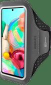 Mobiparts Comfort Fit Sportarmband Samsung Galaxy A71 Zwart
