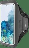 Mobiparts Comfort Fit Sportarmband Samsung Galaxy S20 Zwart