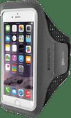 Mobiparts Comfort Fit Sportarmband Apple iPhone 6/6S/7/8/SE (2020) Zwart