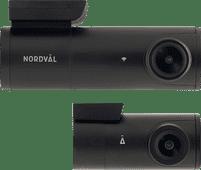 Nordväl DC102 Dashcam 2CH 2K + Wifi 64GB