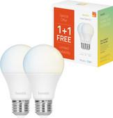 Hombli Smart Bulb E27 dimbaar wit Duo-Pack