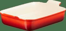 Le Creuset ovenschaal 32 cm Rood Ovenschalen