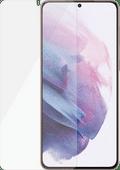 PanzerGlass Ultrasonic Fingerprint Glass Samsung S21 Plus Screenprotector Zwart