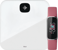 Fitbit Luxe Pink + Fitbit Aria Air White