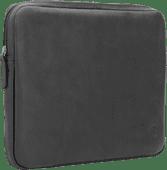 BlueBuilt 13 inch Laptophoes breedte 30 cm - 31 cm Leer Zwart