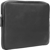 BlueBuilt 14-inch Laptop Cover Width 32cm - 33cm Leather Black
