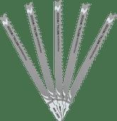 DeWalt 5-delige Decoupeerzaagbladenset Universeel (T345XF)