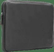 BlueBuilt 14 inches Laptop Cover Width 33 - 34cm Leather Black