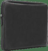 BlueBuilt 15-inch Laptop Cover Width 36cm - 37cm Leather Black