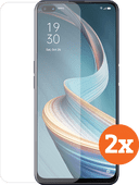 Azuri Tempered Glass OPPO Reno4 Z Screen Protector Duo Pack