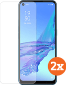 Azuri Tempered Glass OPPO A53s Screenprotector Duo Pack Oppo screenprotectors