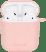 BlueBuilt Hoesje voor AirPods gen 1/2 Composteerbaar Roze