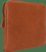 BlueBuilt 13-inch Laptop Cover Width 30 - 31cm Leather Cognac