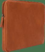 BlueBuilt 13-inch Laptop Cover Width 31 - 32cm Leather Cognac