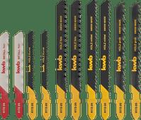 KWB 10-delige Decoupeerzaagbladenset (universeel)
