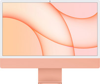 "Apple iMac 24"" (2021) 8GB/256GB Apple M1 met  8 core GPU Oranje"