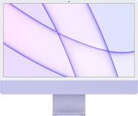 Apple iMac 24 inches (2021) 8GB/256GB Apple M1 with 8-core GPU Purple Apple iMac 24 inches (2021) with Apple M1 chip
