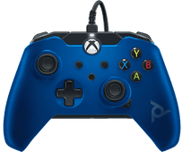 PDP Bedrade Controller Xbox Series X en Xbox One Blauw