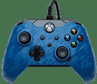PDP Bedrade Controller Xbox Series X en Xbox One Blauw Camo