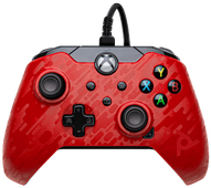 PDP Bedrade Controller Xbox Series X en Xbox One Rood