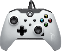 PDP Bedrade Controller Xbox Series X en Xbox One Wit