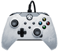 PDP Bedrade Controller Xbox Series X en Xbox One Wit Camo