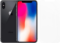 Refurbished iPhone X 64GB Space Gray + Otterbox Clearly Protected Screenprotector