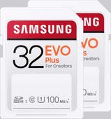 Samsung SD Card EVO Plus 32GB Duo Pack