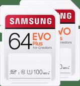 Samsung SD card EVO Plus 64GB Duo Pack