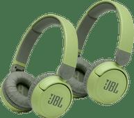 JBL JR310BT Duopack Groen