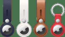 Apple AirTag Hanger 3-Pack + Leren Sleutelhanger