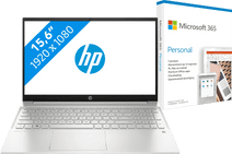 HP Pavilion 15-eh0948nd + Microsoft 365 Personal NL 1-Year Subscription