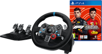 Logitech G29 Driving Force - Racestuur voor PlayStation 5, PlayStation 4 & PC + F1 2020