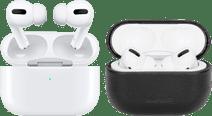 Apple Airpods Pro met draadloze oplaadcase + BlueBuilt Hoesje