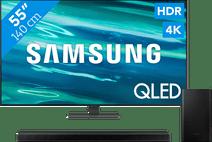 Samsung QLED 55Q80A (2021) + Soundbar