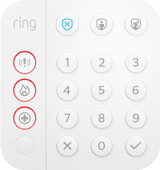 Ring Alarm Bedieningspaneel (Gen. 2)