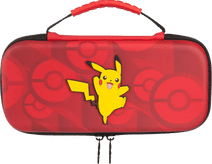 Bigben Nintendo Switch Travel Case Pikachu Rood