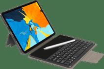 Gecko Covers Apple iPad Pro 11 inch (2021/2020) Toetsenbord Hoes QWERTY Zwart