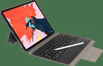 Gecko Covers Apple iPad Pro 12.9 inch (2020)/(2018) Toetsenbord Hoes QWERTY Zwart