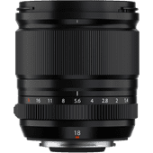 Fujifilm XF 18mm f/1.4 LM WR Lenzen voor Fujifilm camera's