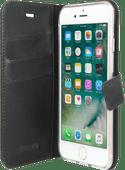 Valenta Gel Skin Apple iPhone SE / 8 / 7 Book Case Leather Black