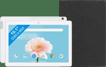 Lenovo Tab M10 2GB 32GB WiFi White + Lenovo Book Case Zwart