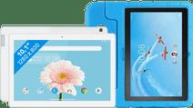 Lenovo Tab M10 2GB 32GB Wifi Wit + Just in Case Kinderhoes Blauw