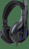 Bigben Bedrade Stereo Gaming Headset V1 Zwart & Blauw