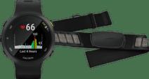 Garmin Forerunner 45 Black + Garmin HRM-DUAL Heart Rate Monitor Chest Strap Black