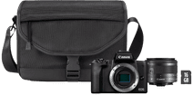 Canon EOS M50 Mark II Zwart Starterskit - EF-M 15-45mm + Tas + Geheugenkaart