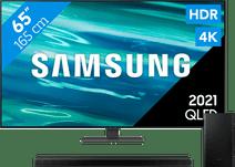 Samsung QLED 65Q80A (2021) + Soundbar