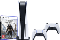 PlayStation 5 + Assassin's Creed: Valhalla PS5 + PlayStation 5 DualSense Controller
